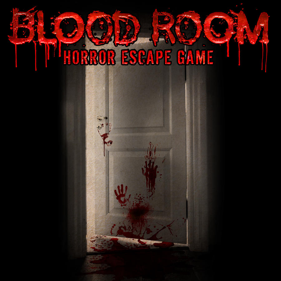 Blood room logo with door final